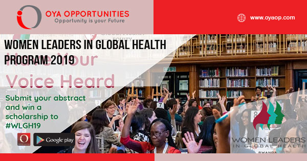 Women Leaders in Global Health Program 2019