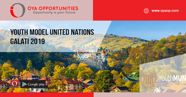 Youth Model United Nations Galati 2019