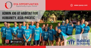 Jobs at Habitat for Humanity, Asia-Pacific
