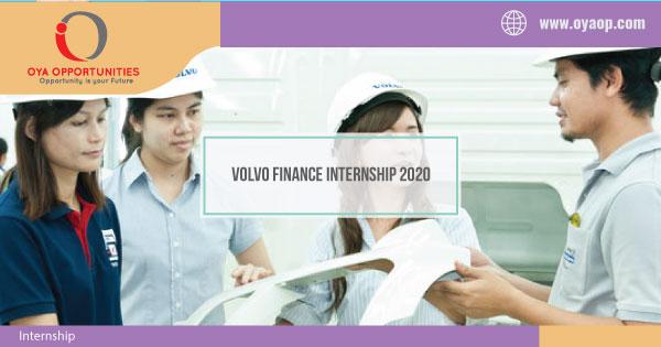 Volvo Finance Internship 2020