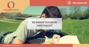 NGS Rubincam Youth Writing Competition