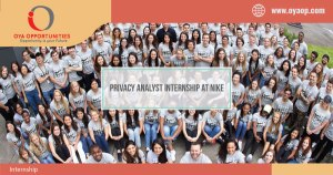 Privacy Analyst Internship at Nike