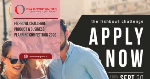 Fishbowl Challenge: Product & Business Planning Competition 2020