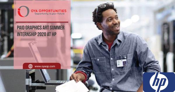 Paid Graphics Art Summer Internship 2020 at HP