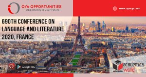 690th Conference on Language and Literature, France