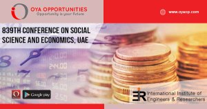 839th Conference on Economics and Social Science, UAE