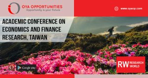 Academic Conference on Economics and Finance Research, Taiwan