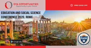 Education and Social Science Conference 2020, Rome