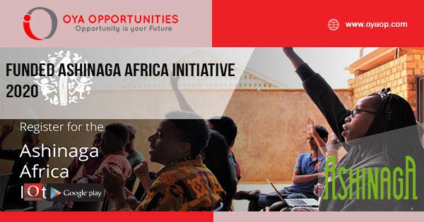 Funded Ashinaga Africa Initiative 2020 - OYA Opportunities