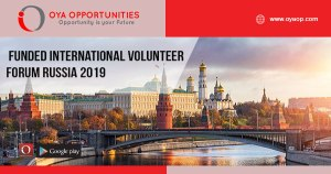 Funded International Volunteer Forum Russia 2019