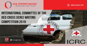 International Committee of the Red Cross (ICRC) Writing Competition 2019