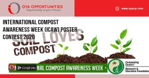 International Compost Awareness Week (ICAW) Poster Contest 2020