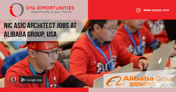 NIC ASIC Architect jobs at Alibaba Group, United States