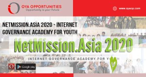 NetMission.Asia 2020 - Internet Governance Academy for Youth