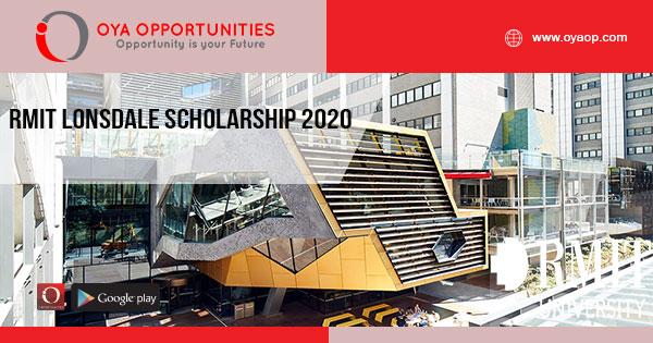RMIT Lonsdale Scholarship 2020