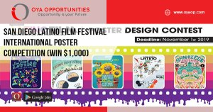 San Diego Latino Film Festival International Poster Competition (Win $1,000)