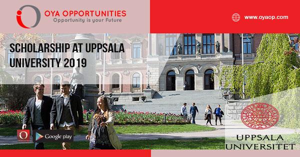 Scholarship at Uppsala University 2019