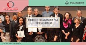 Ockenden International 2020 Prize for Refugee Project