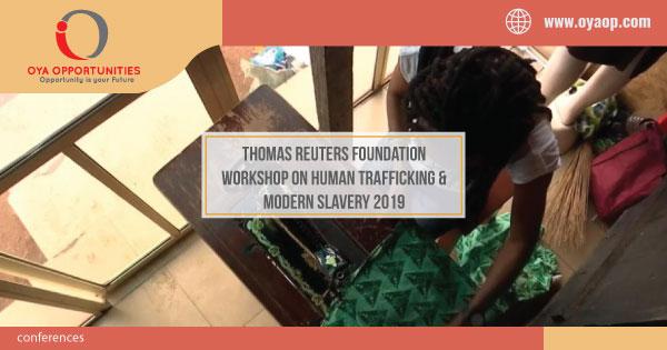 Thomson Reuters Foundation Workshop on Human Trafficking & Slavery