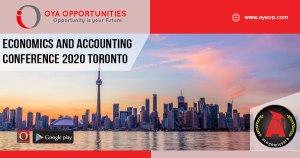 Economics and Accounting Conference 2020 Toronto