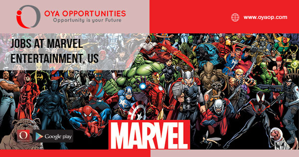 Jobs at Marvel Entertainment, United States
