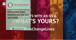 British Council Global Innovation Challenge 2019 (Win £20,000)