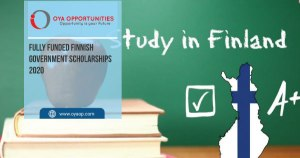 Fully Funded Finnish Government Scholarships 2020