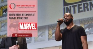 Social Media Internship at Marvel Spring 2020