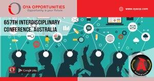657th Interdisciplinary Conference, Australia