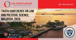 744th Conference on Law and Political Science, Malaysia