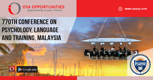 770th Conference on Psychology, Language and Training