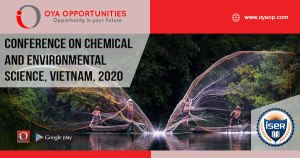 799th Conference on Chemical and Environmental Science
