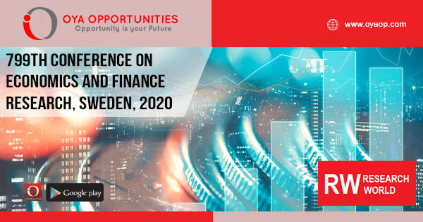 799th Conference on Economics and Finance Research, Sweden