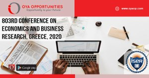 803rd Conference on Economics and Business Research