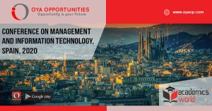 816th Conference on Management and Information Technology, Spain