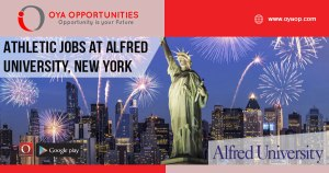 Athletic Jobs at Alfred University, New York