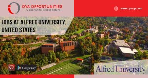 Jobs at Alfred University, United States
