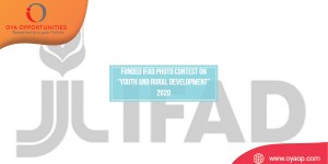 """Funded IFAD Photo Contest on """"Youth and Rural Development"""" 2020"""