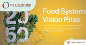 Food System Vision Prize by Rockefeller Foundation 2020