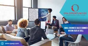 Small Business Sales Summer Intern 2020 at Dell