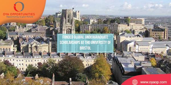 Funded Global Undergraduate Scholarships at the University of Bristol
