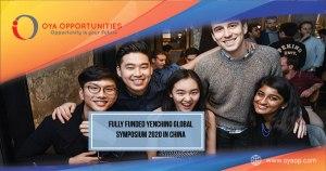 Fully Funded Yenching Global Symposium 2020 in China