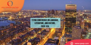 722nd Conference on Language, Literature, and Culture, 2020, USA