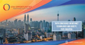 760th Conference on Internet Technologies and Society, 2020, Malaysia