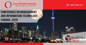819th Conference on Management and Information Technology, Canada