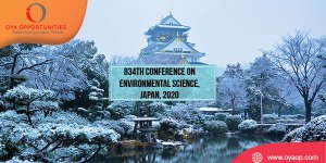 834th Conference on Environmental Science, Japan, 2020