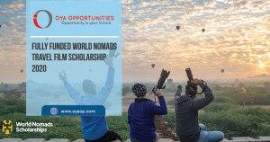 Fully Funded World Nomads Travel Film Scholarship 2020