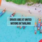 Driver Jobs at United Nations