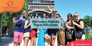 Eiffel Excellence Scholarship Program 2020 in France