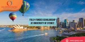 Fully-funded Scholarship at University of Sydney